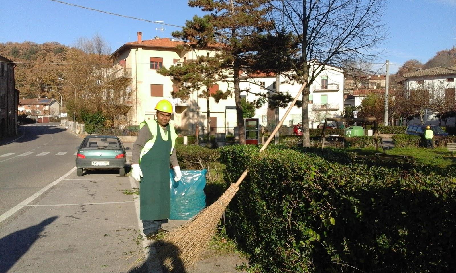 Volontariato Aree verdi di Castelluccio – Dicembre