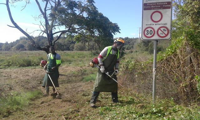 Report Volontariato Ponte Buriano Settembre 2016