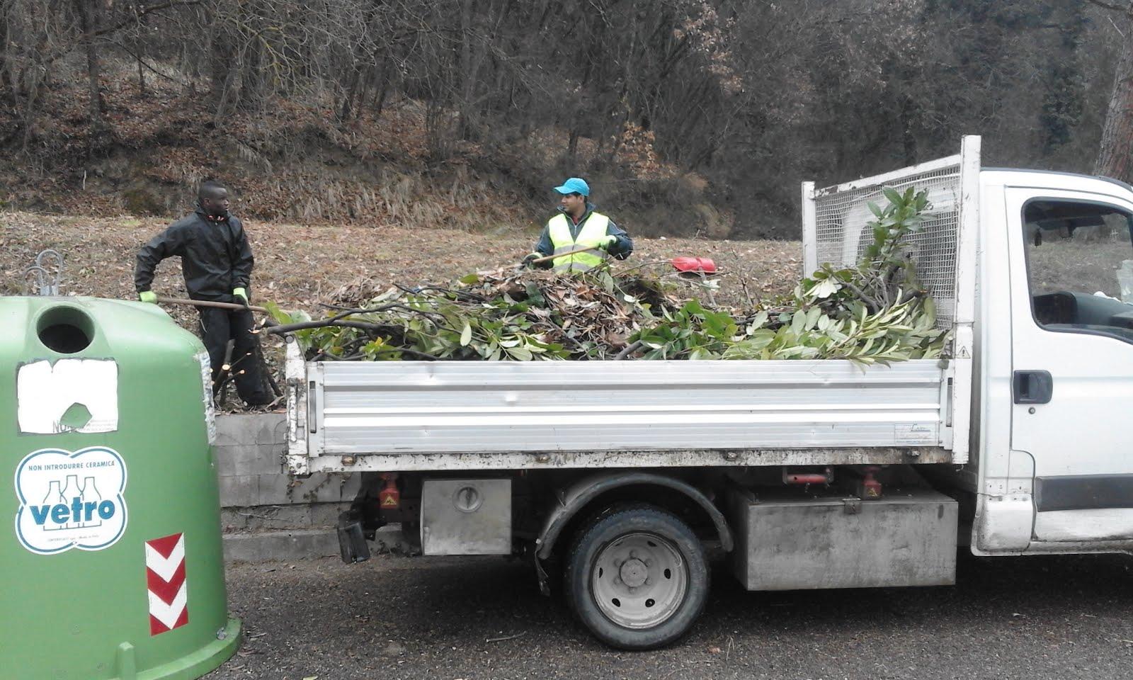 Report Volontariato Castelluccio Febbraio 2017