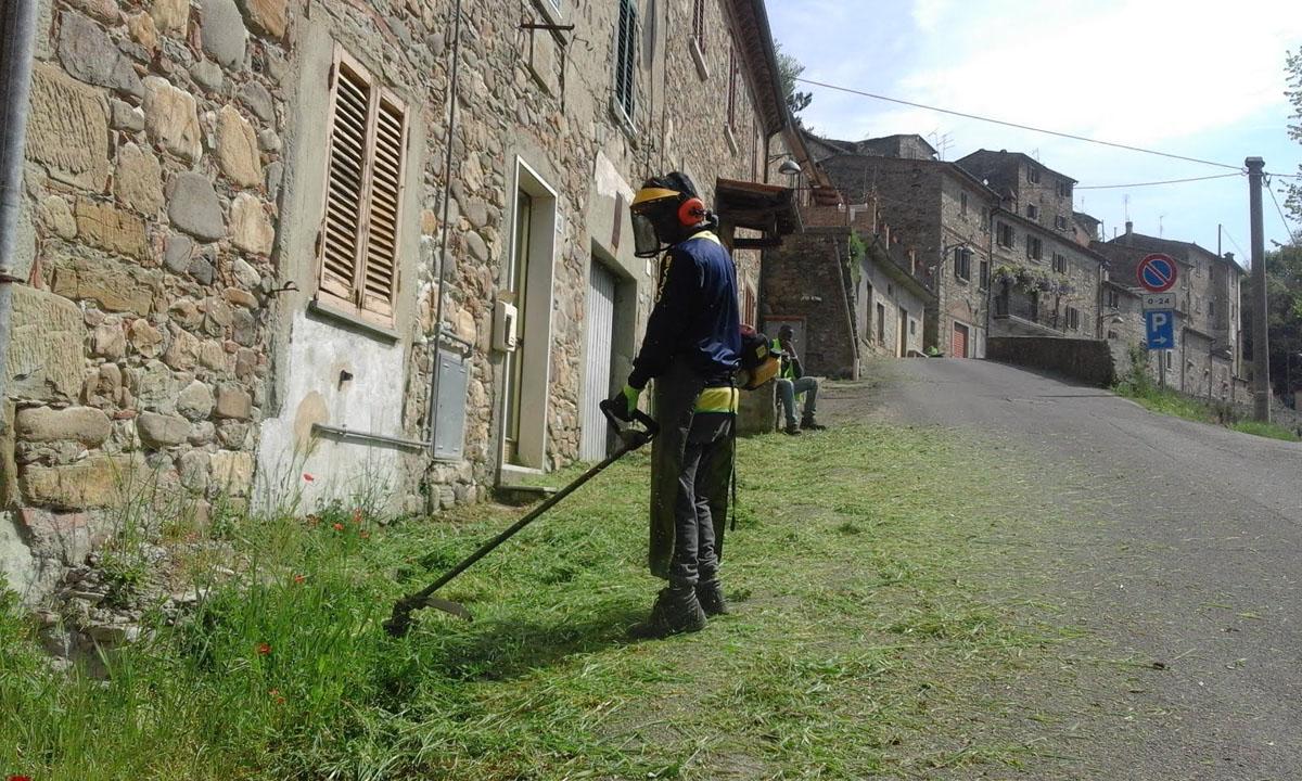 Report Volontariato Castelluccio Aprile 2017