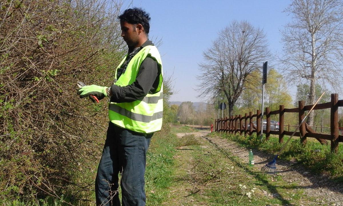 Report Volontariato Ponte Buriano Aprile 2017