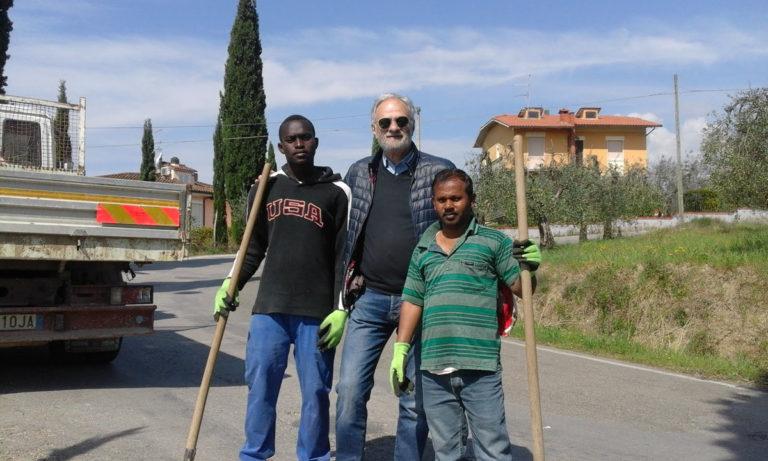 Piantati alberi a Pieve San Giovanni