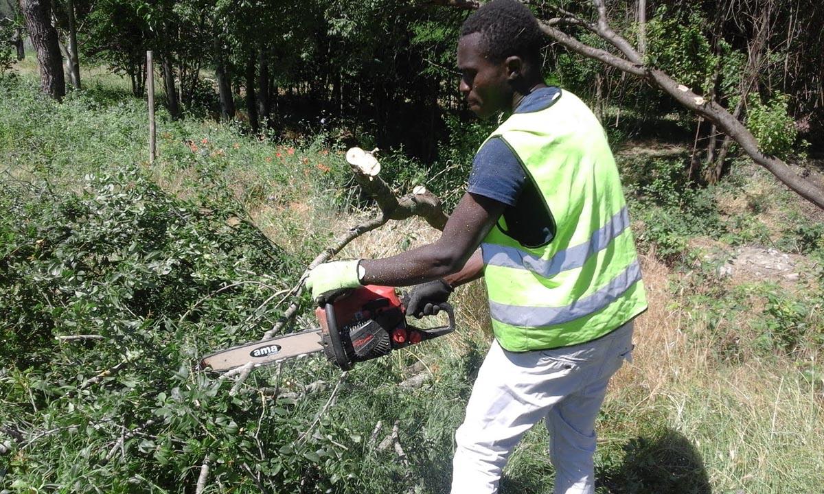 Report Volontariato Ponte Buriano Giugno 2017