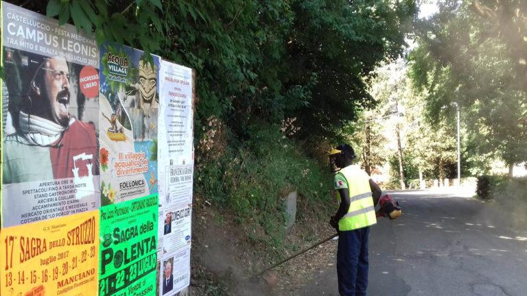 Report Volontariato Castelluccio Luglio 2017