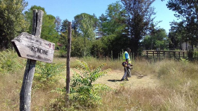 Report Volontariato Ponte Buriano Luglio 2017