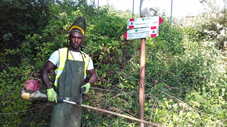Report Volontariato Ponte Buriano Agosto 2017