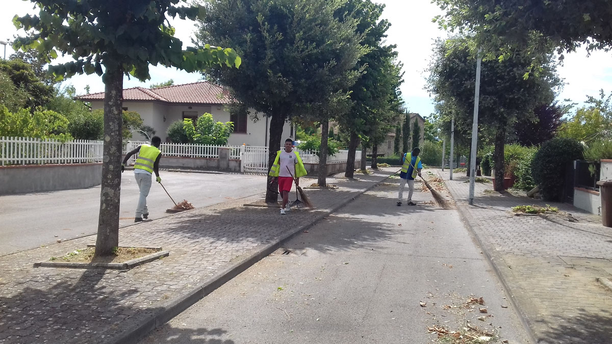 Report Volontariato Castelluccio Agosto 2017