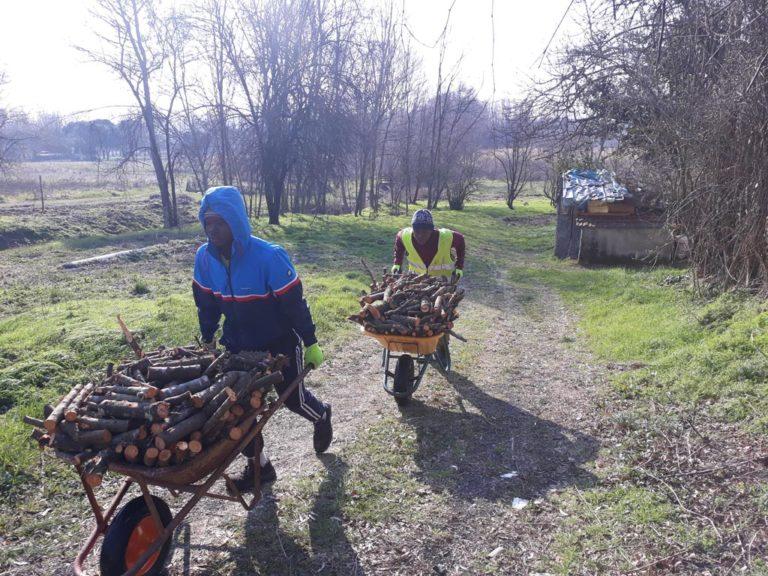 Report Volontariato Ponte Buriano Febbraio 2018
