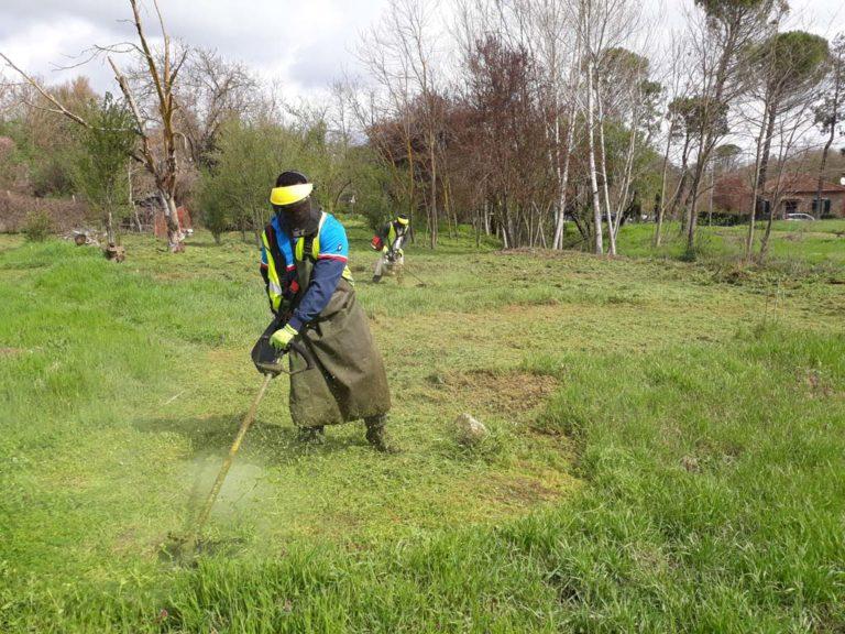 Report Volontariato Ponte Buriano Aprile 2018