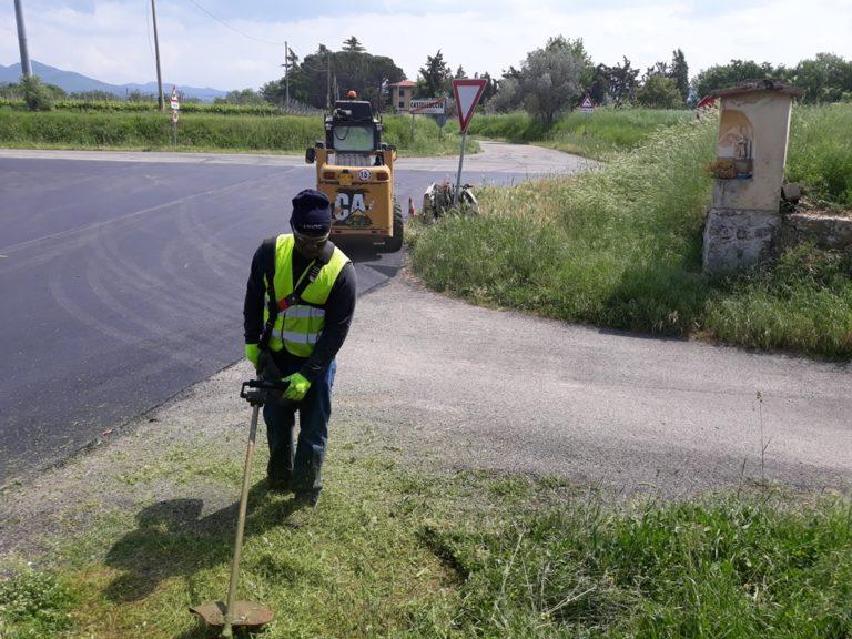 Report Volontariato Castelluccio Maggio 2018