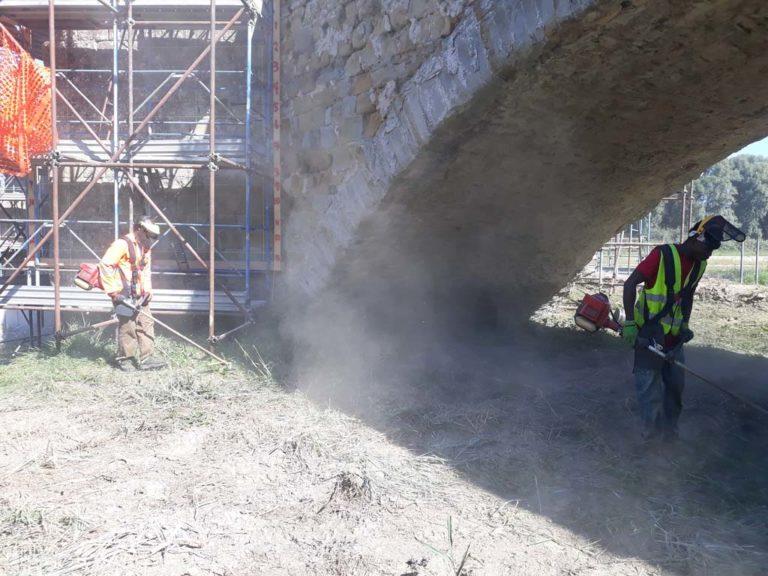 Report Volontariato Ponte Buriano Settembre 2018