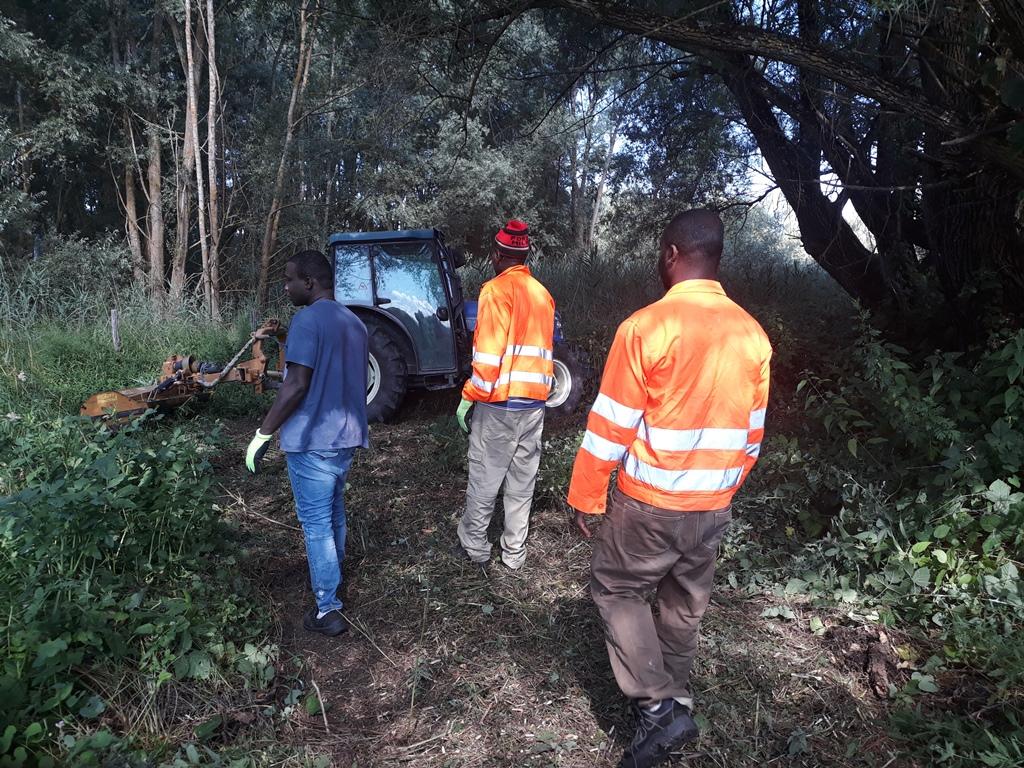 Report Volontariato Ponte Buriano Luglio 2018